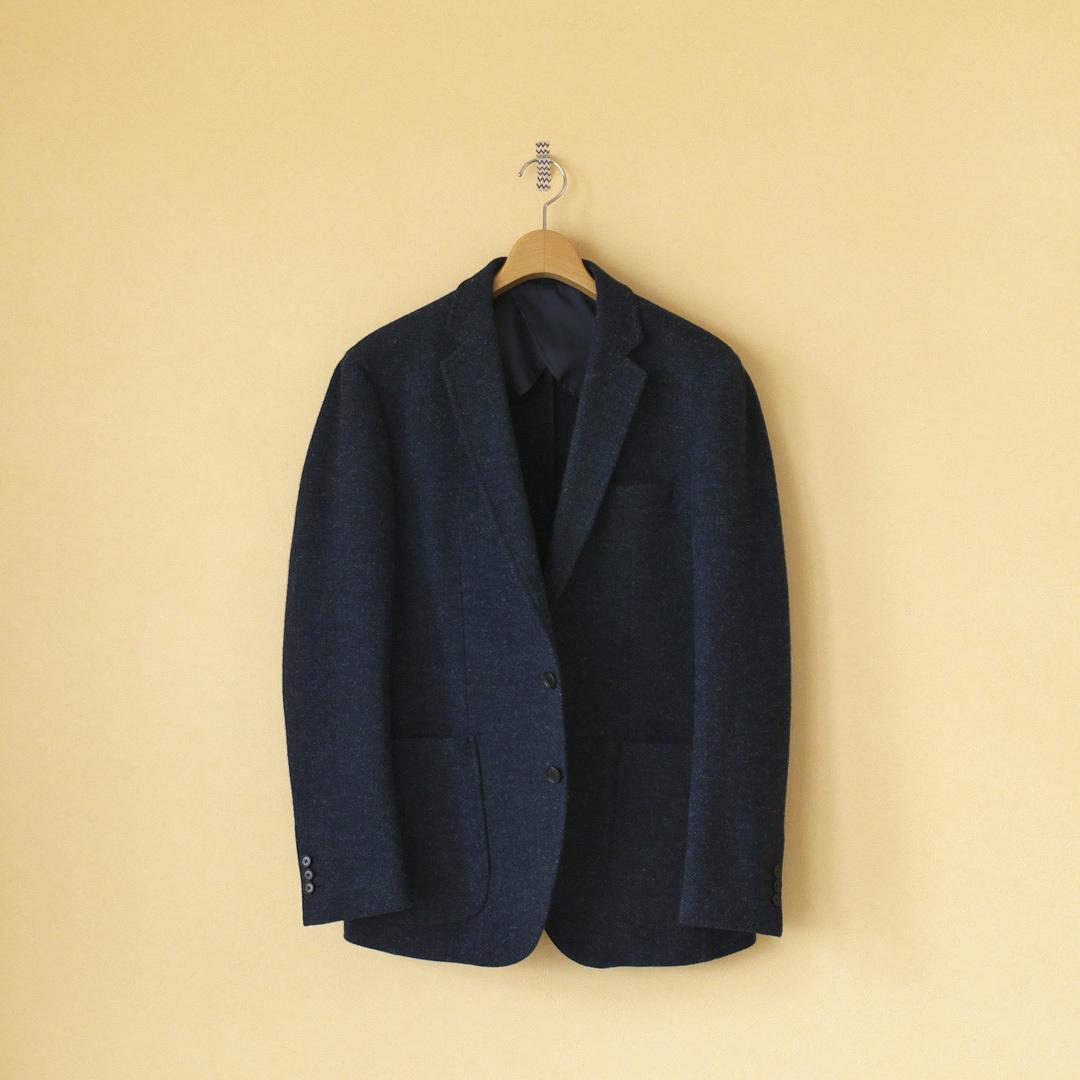Arbre アルブル  (MEN'S) wool herringbone 3B jacket