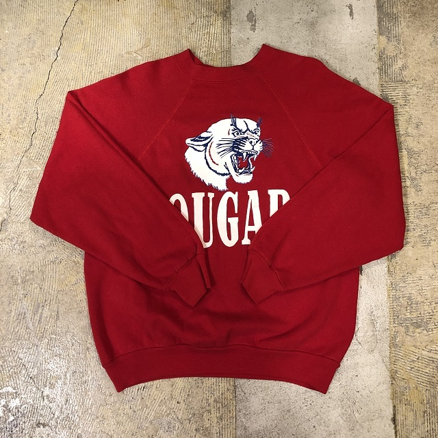 70's Altex Raglan Cougars Sweat