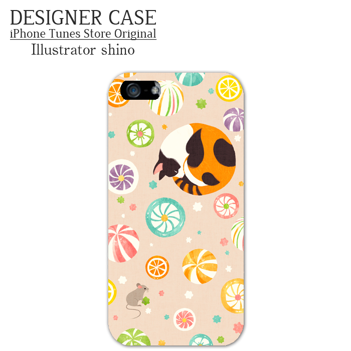 iPhone6 Soft case[Ame to Neco] Illustrator:shino
