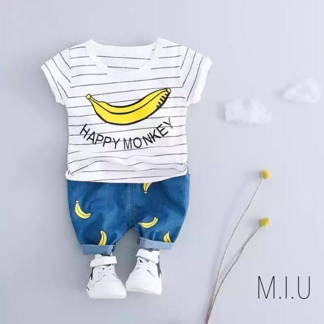 バナナ上下セット #MIU584