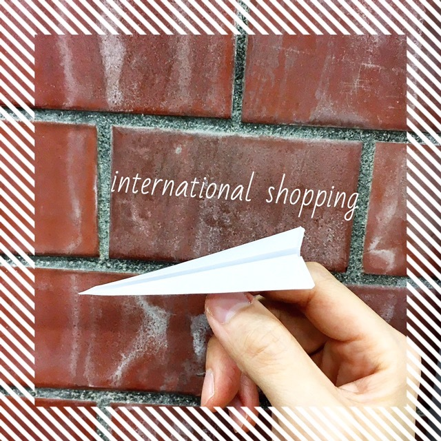 【発送方法】International shipping(海外発送)