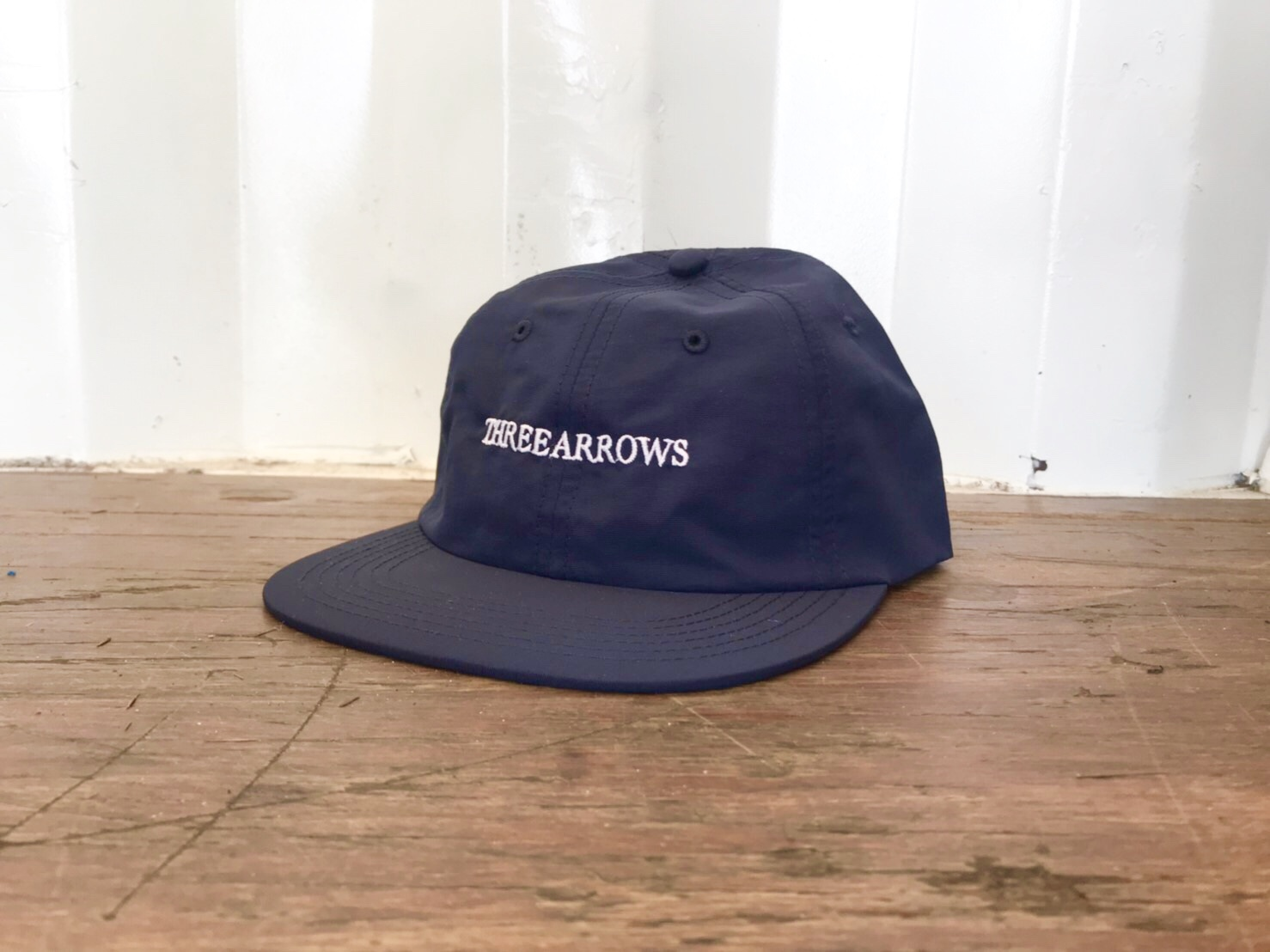 THREEARROWS LOGO CAP (navy)