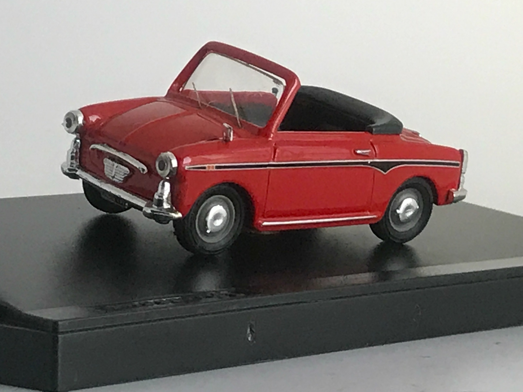 AUTOBIANCHI BIANCHINA CABRILET OPEN 【1/43】【PROGETTOK、MADE IN ITALY】