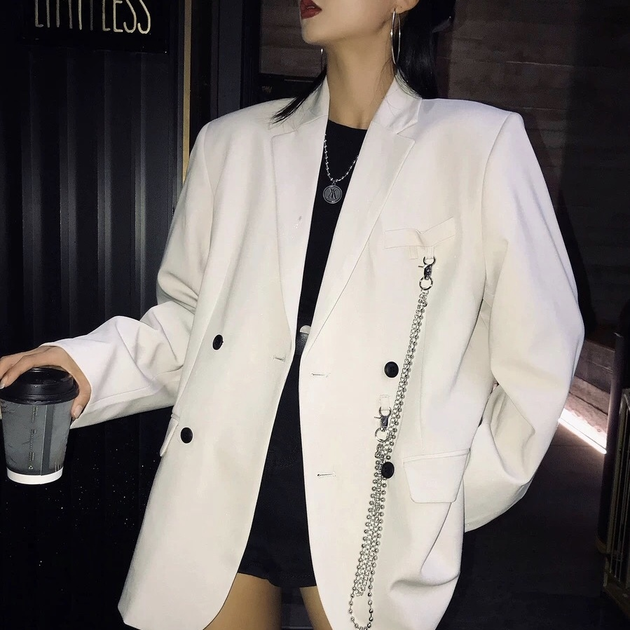side chain tailored jacket