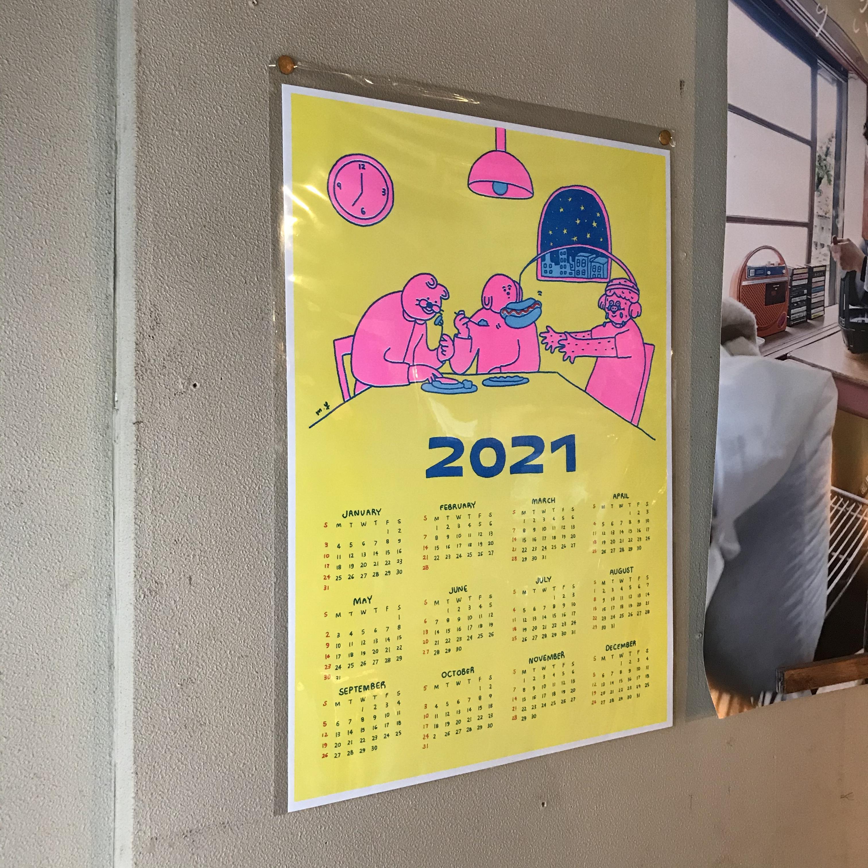 【委託】Megumi Yamazaki/2021カレンダー