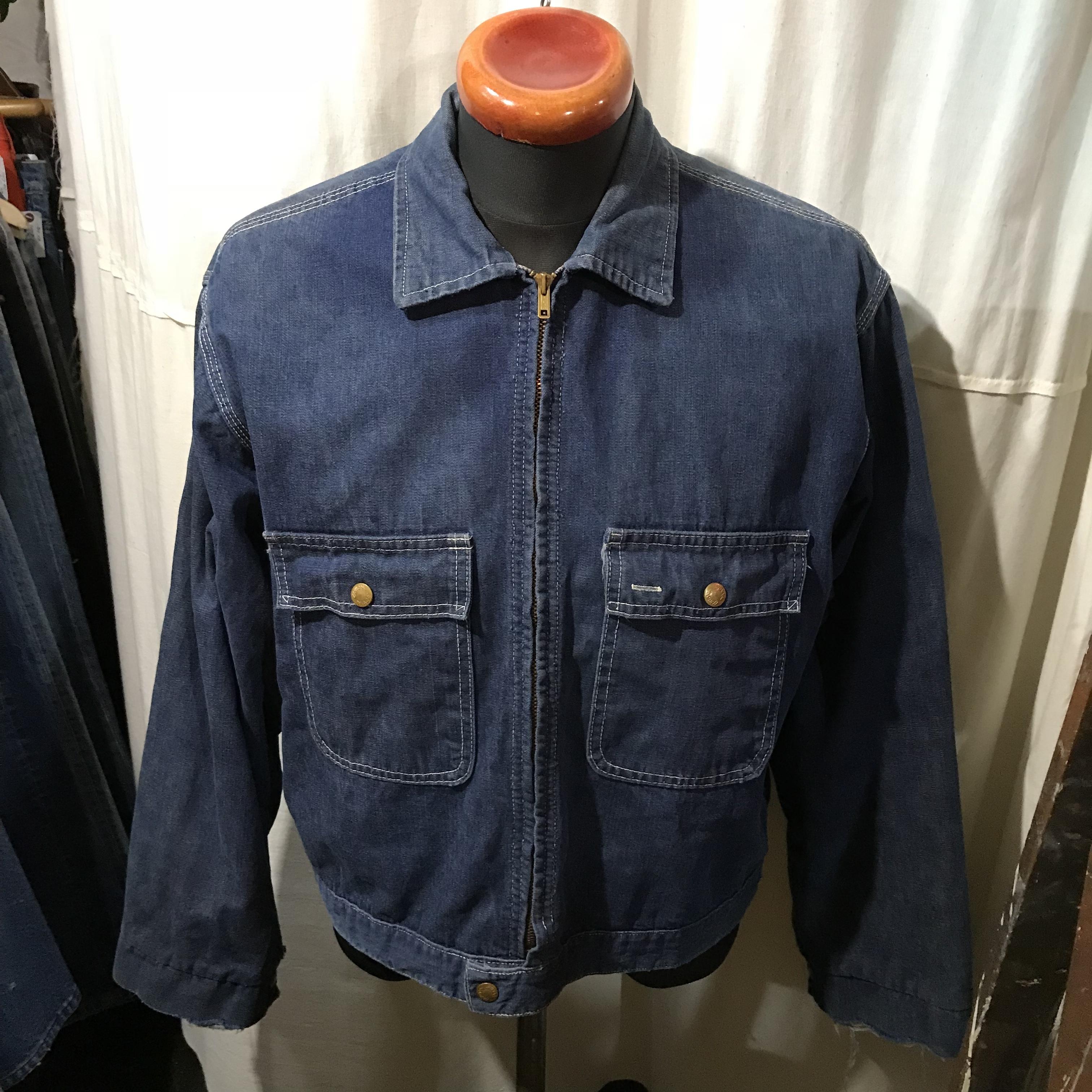 60's vintage union made Workmaster ワークマスター デニムワークジャケット メンズL