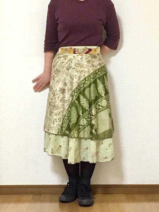 dss-041 シルクサリー巻きスカート ショート