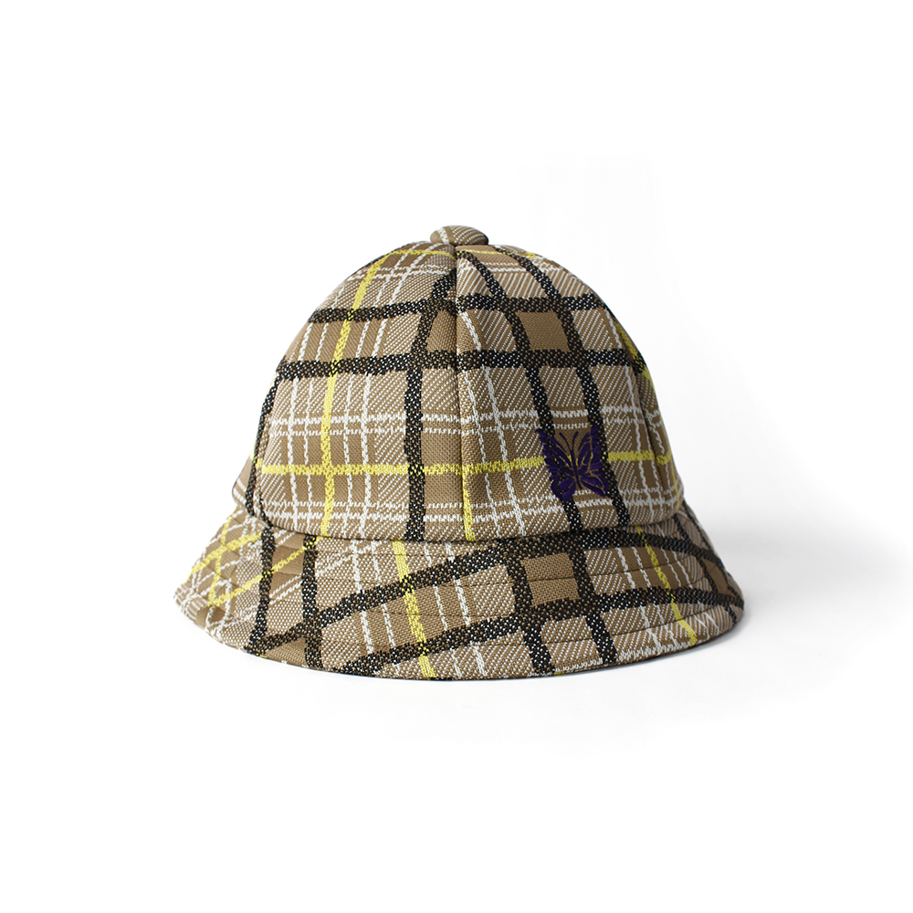NEEDLES Check Backet Hat