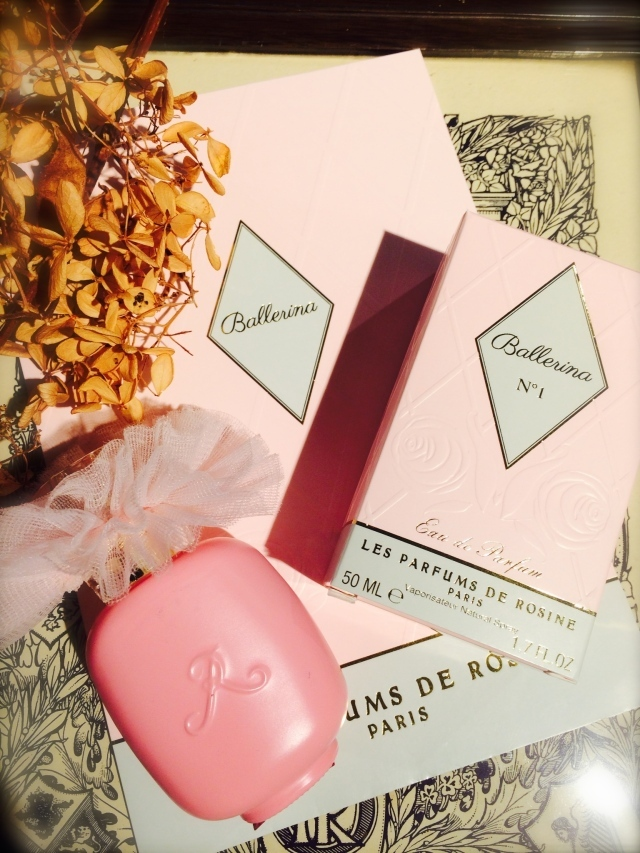 Les Parfums de ROSINE パルファン・ロジーヌ パリ オードパルファンスプレイ Ballerina No.1 バレリーナ No.1