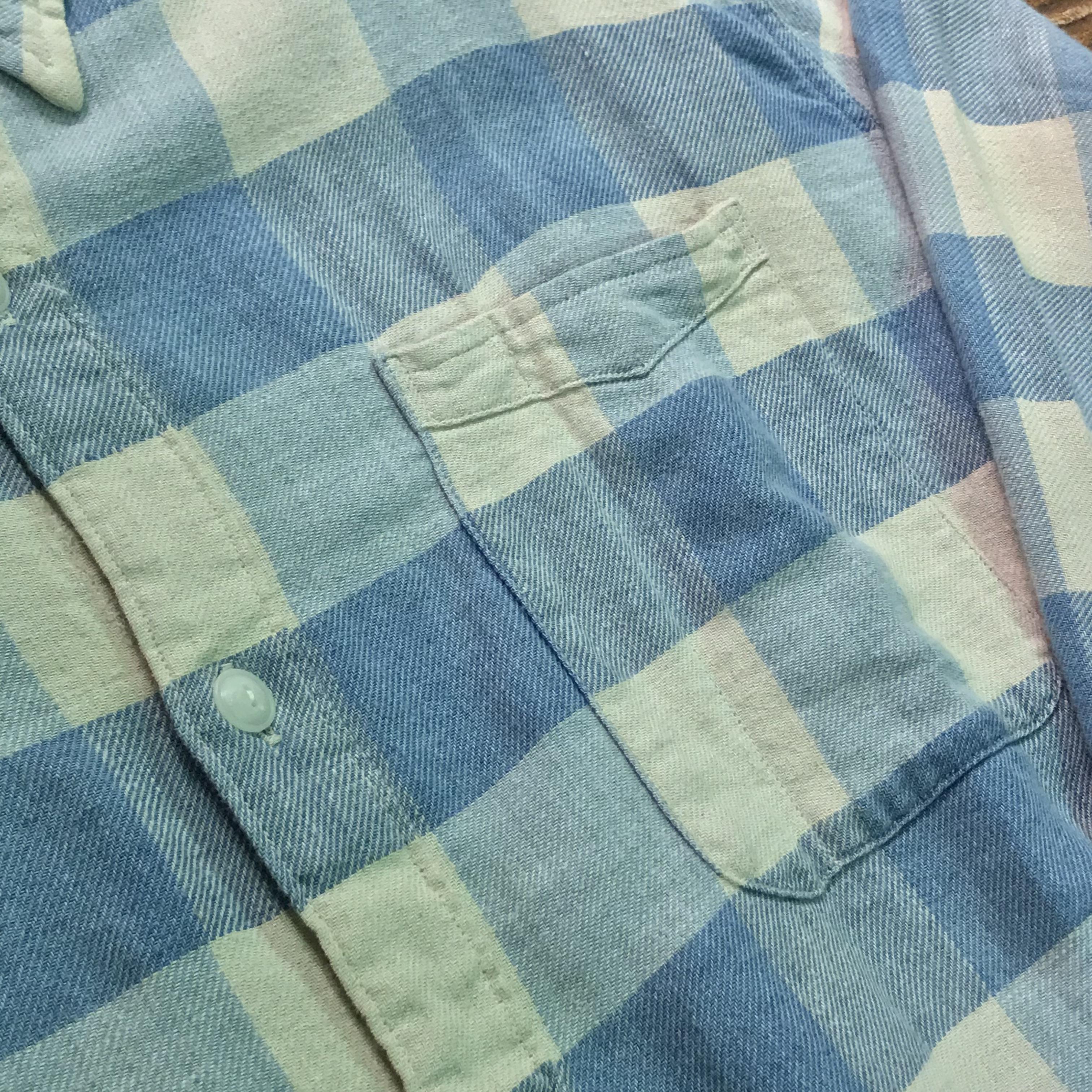 RRL Check Nel Shirts【新品】ダブルアールエル ブロックチェック シャツ