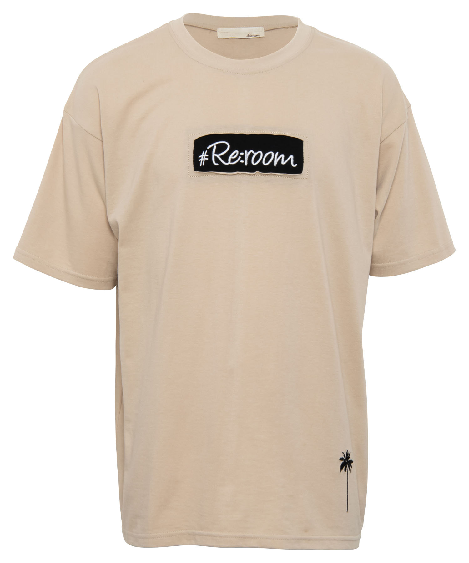 BOX LOGO EMBROIDERY BIG T-shirt[REC405]