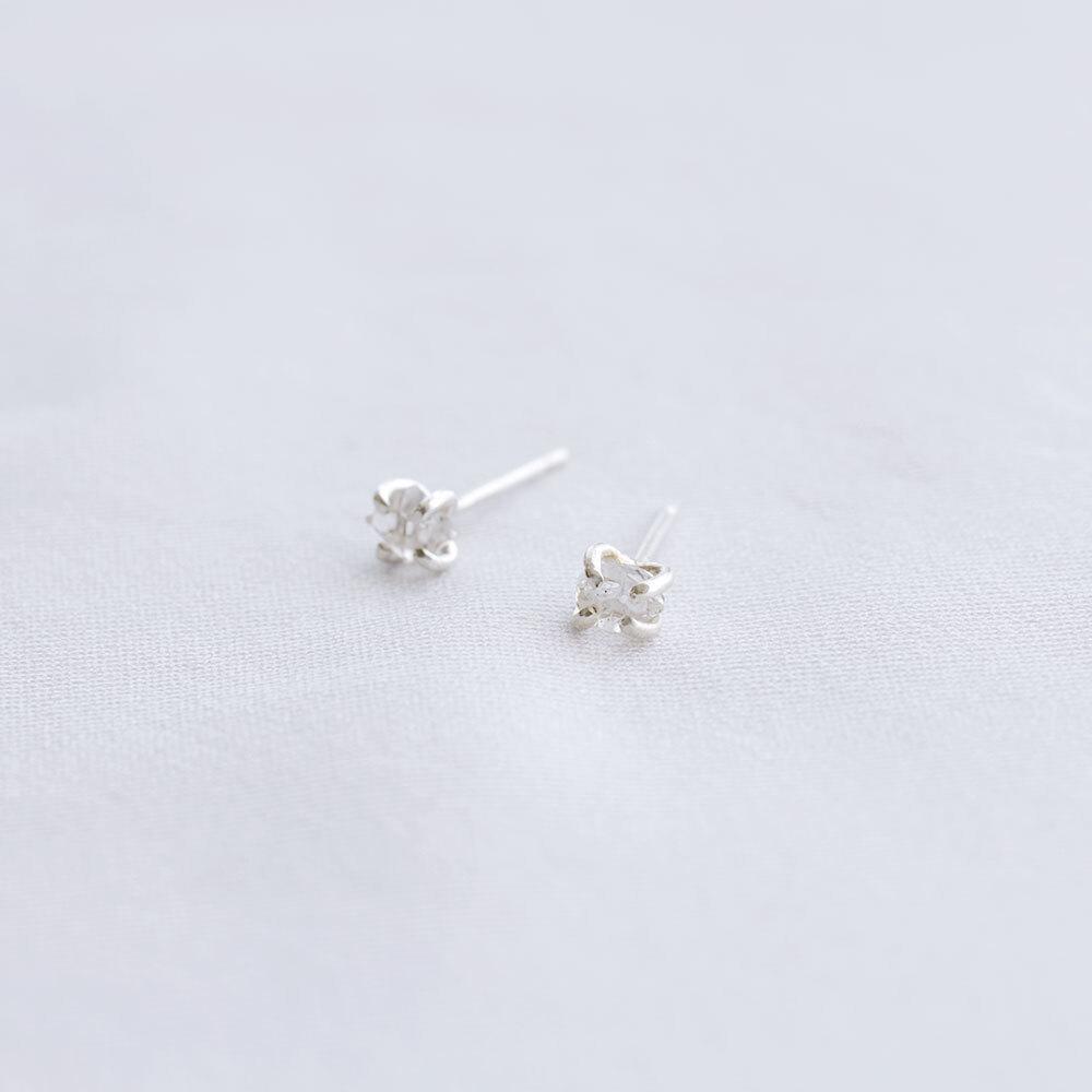 Diamond / Ear - S <Silver> (single)