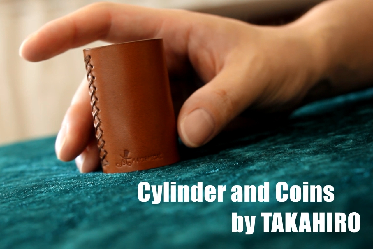 Cylinder and Coins by TAKAHIRO(クレカ決済以外対応)
