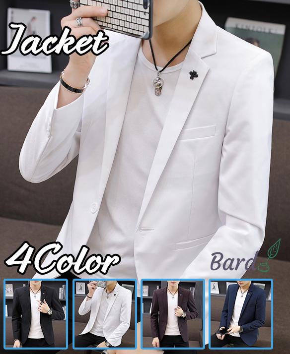 テーラードジャケット メンズ カジュアル メンズ 大きいサイズ 薄手 秋 春 サマージャケット 4色 ブレザー ジャケット