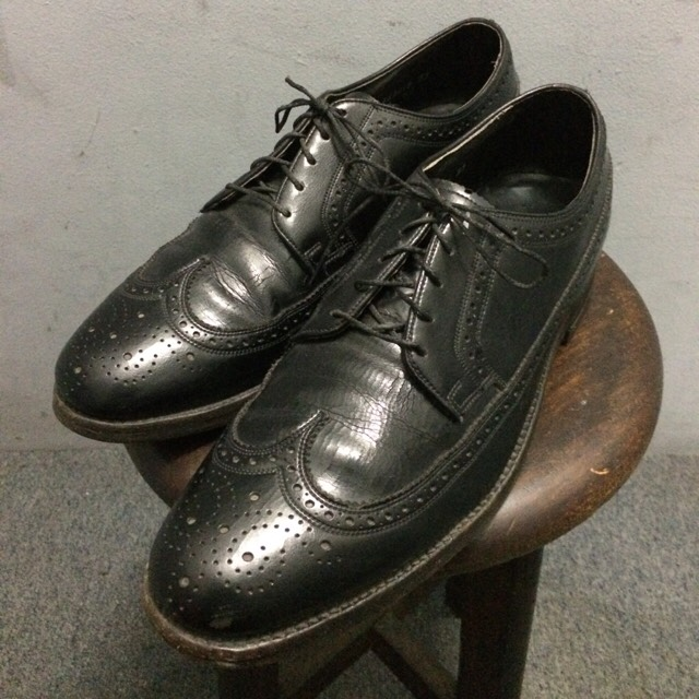 old Flosheim Leather Shoes
