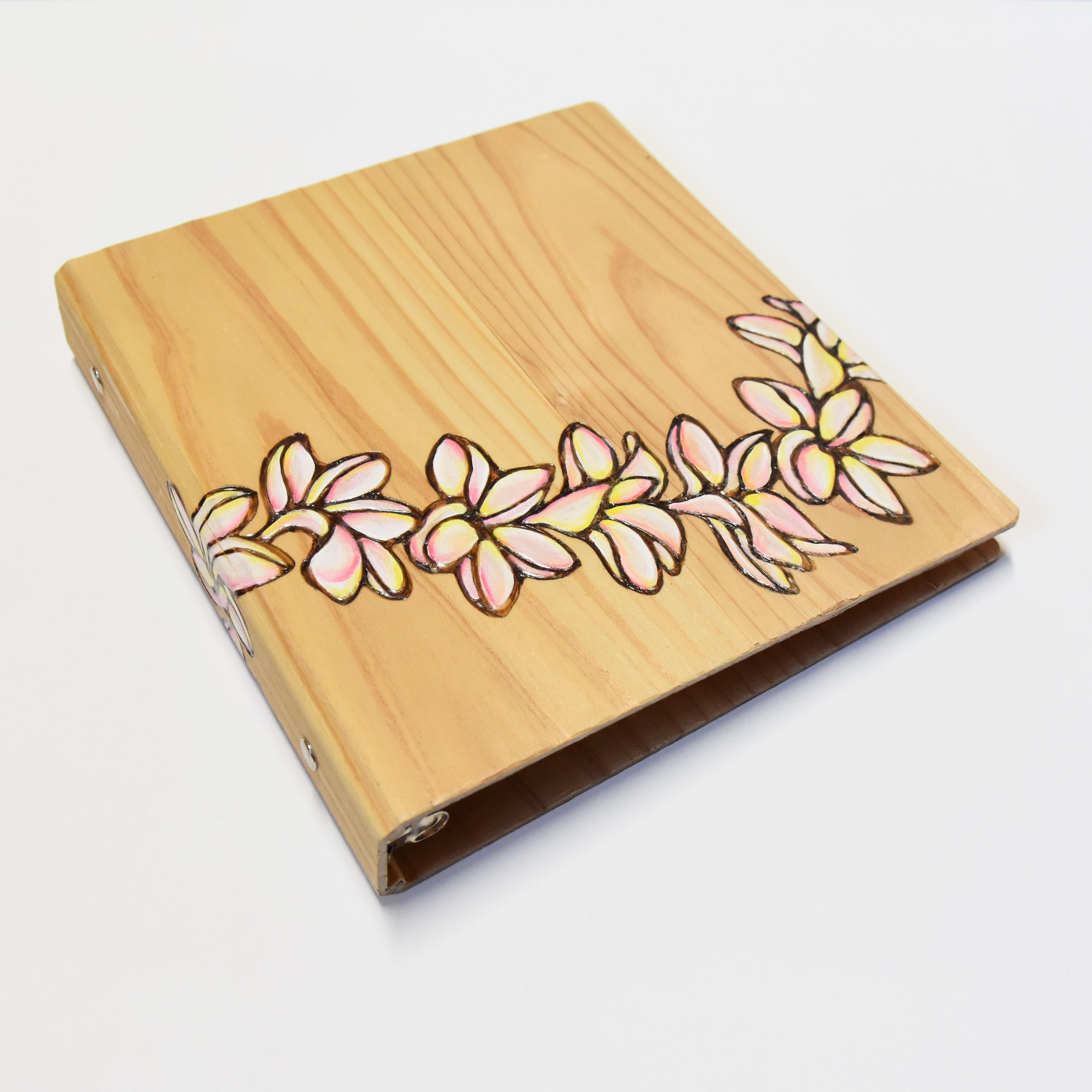Wood File A5 【Plumeria Lei】