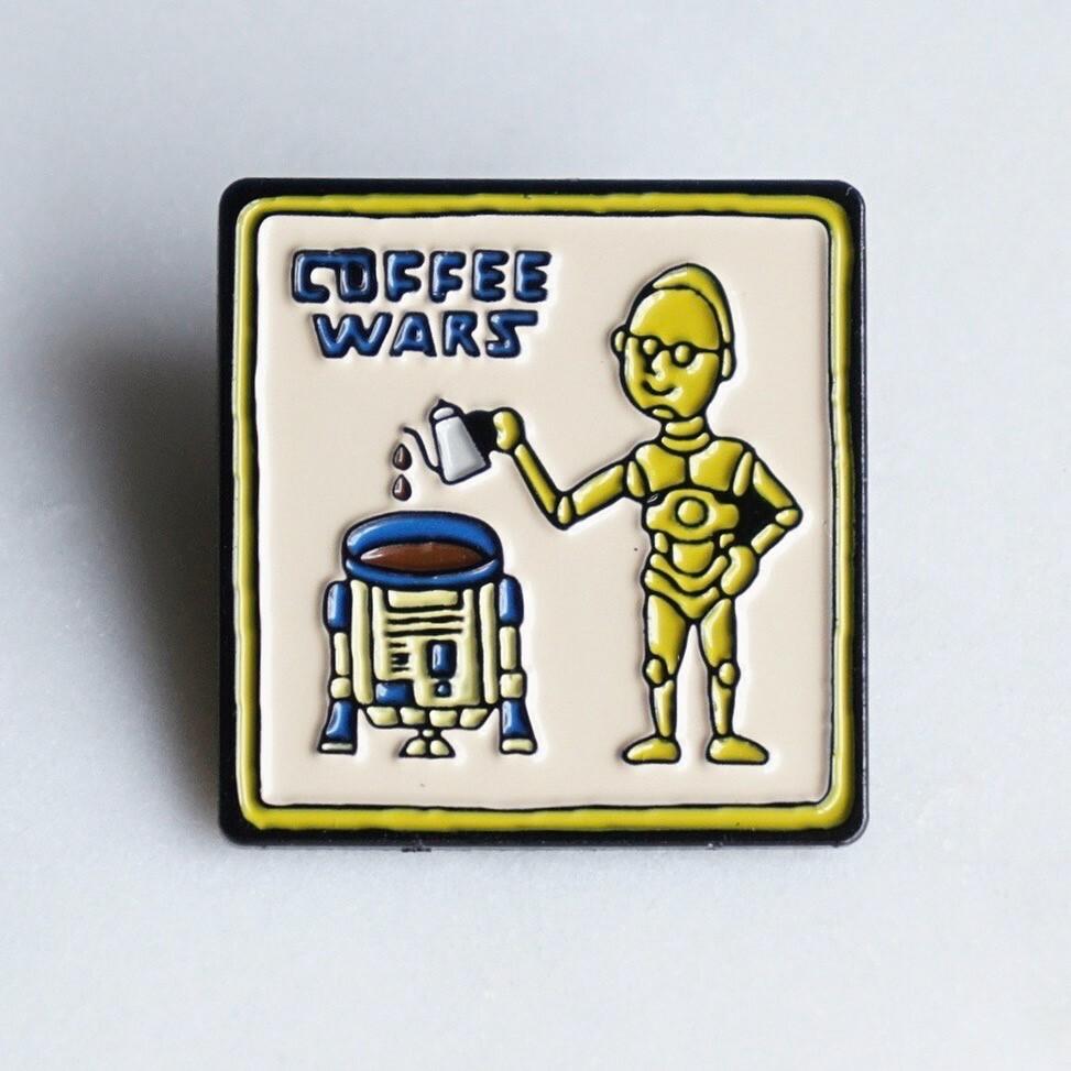 Pin Badge【COFFEE WARS】