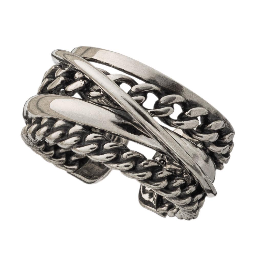 グラデーション喜平リング AKR0053 Gradient Kihei ring