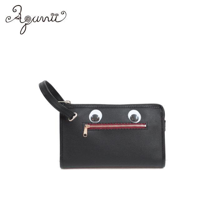 【Aquvii】 目玉 セカンドバッグ 〈S〉