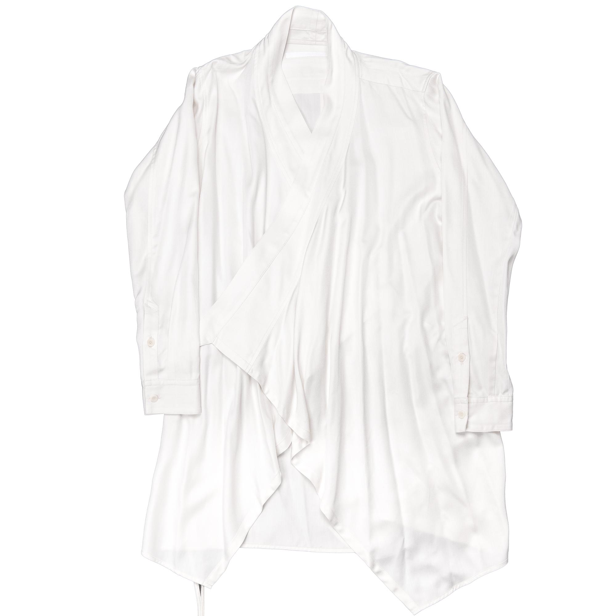 647SHM1-PLASTER / Wラッピングシャツジャケット