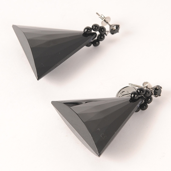 df17AW-J01 TRIANGLE PIERCE (black)