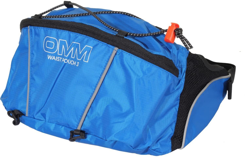 OMM/オーエムエム/オリジナルマウンテンマラソン OMM Waist Pouch3 Blue  ウェストポーチ3 ブルー OF005000B1
