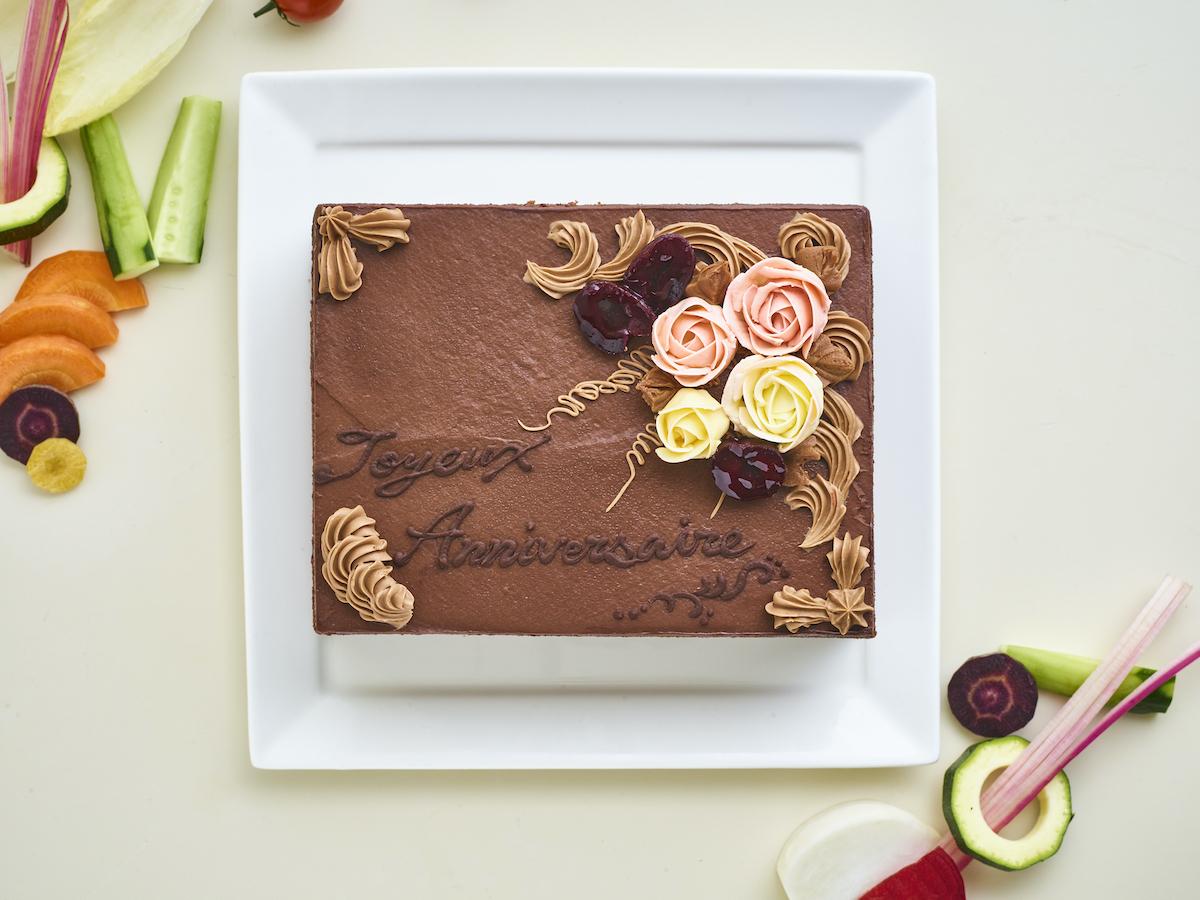 【テイクアウト】フォレノワール(チョコレート)ケーキ小(3〜4人前)