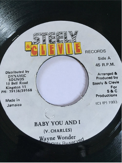 Wayne Wonder(ウェインワンダー) - Baby You And I【7'】
