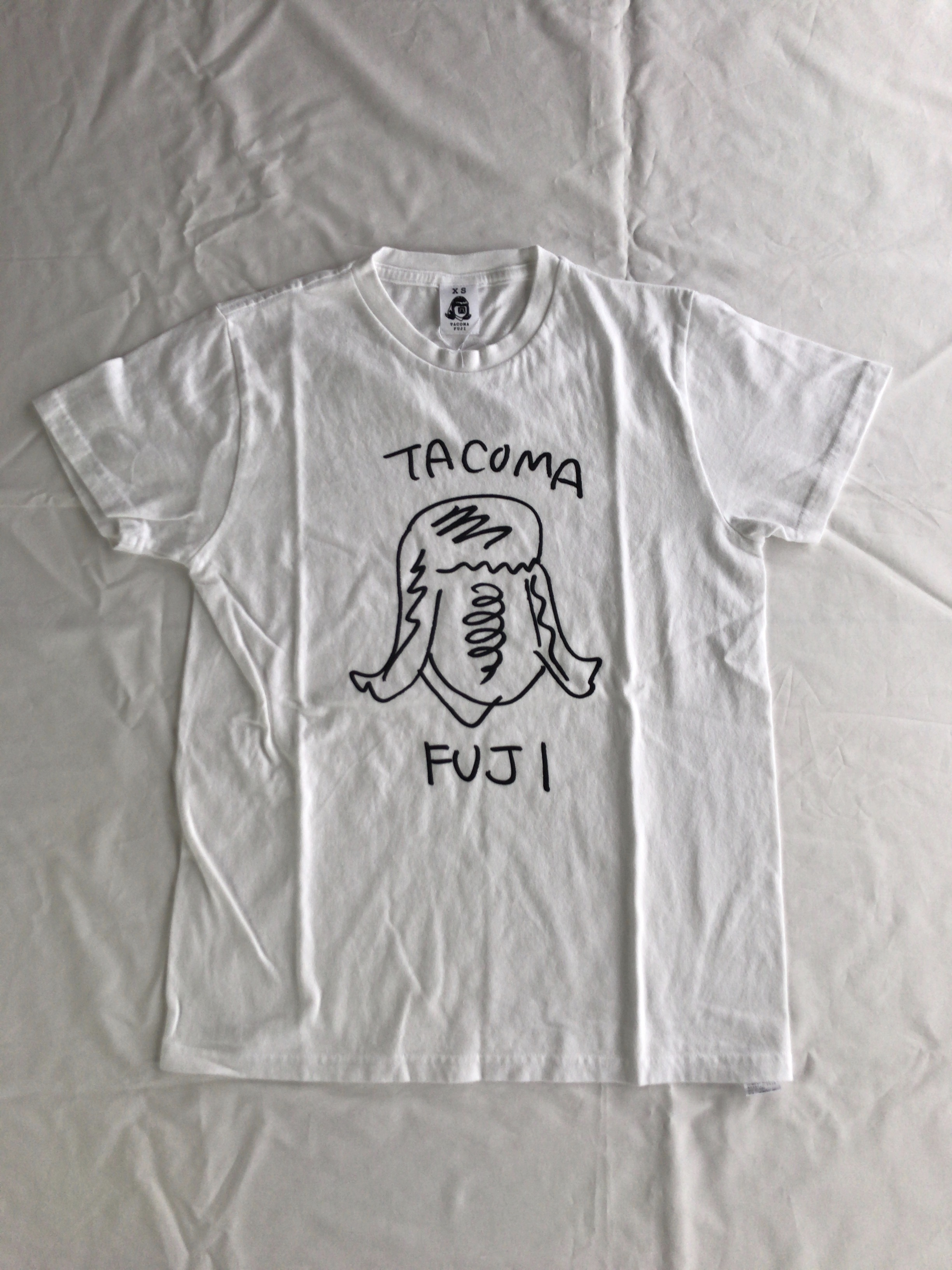 TACOMA FUJI RECORDS  タコマ姉さん  designed by Ken Kagami WHITE