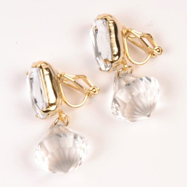 df17SS-J04 DIA / PARIS EARRING A (gold)