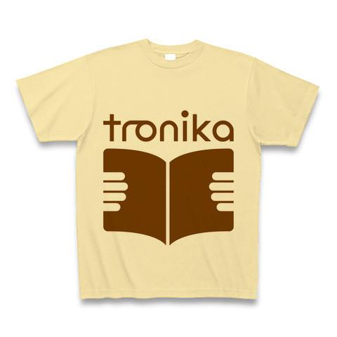 トロニカ ロゴ Tシャツ(ナチュラル) - 画像1