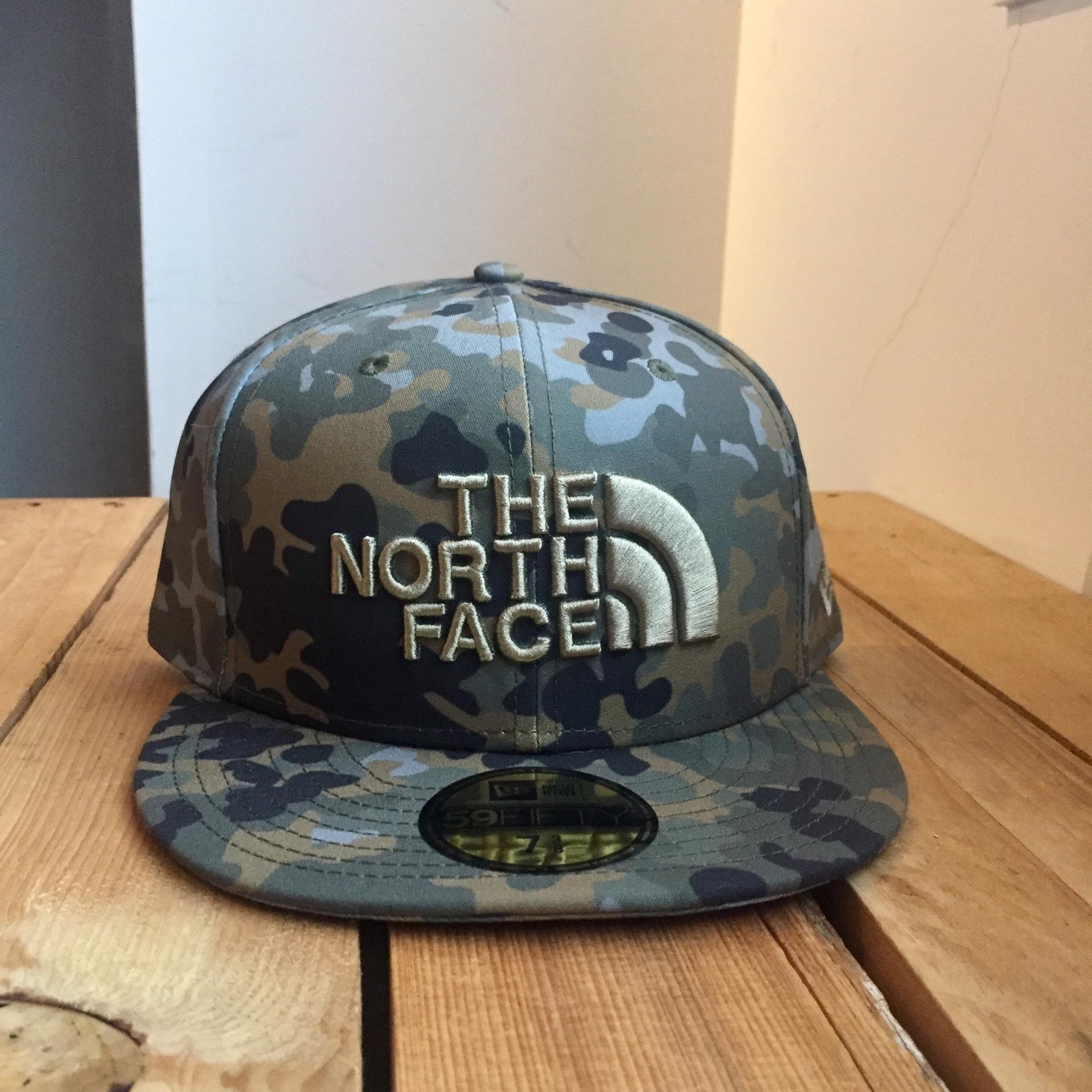 USストア限定 The North Face x New Era Half Dome Logo Cap