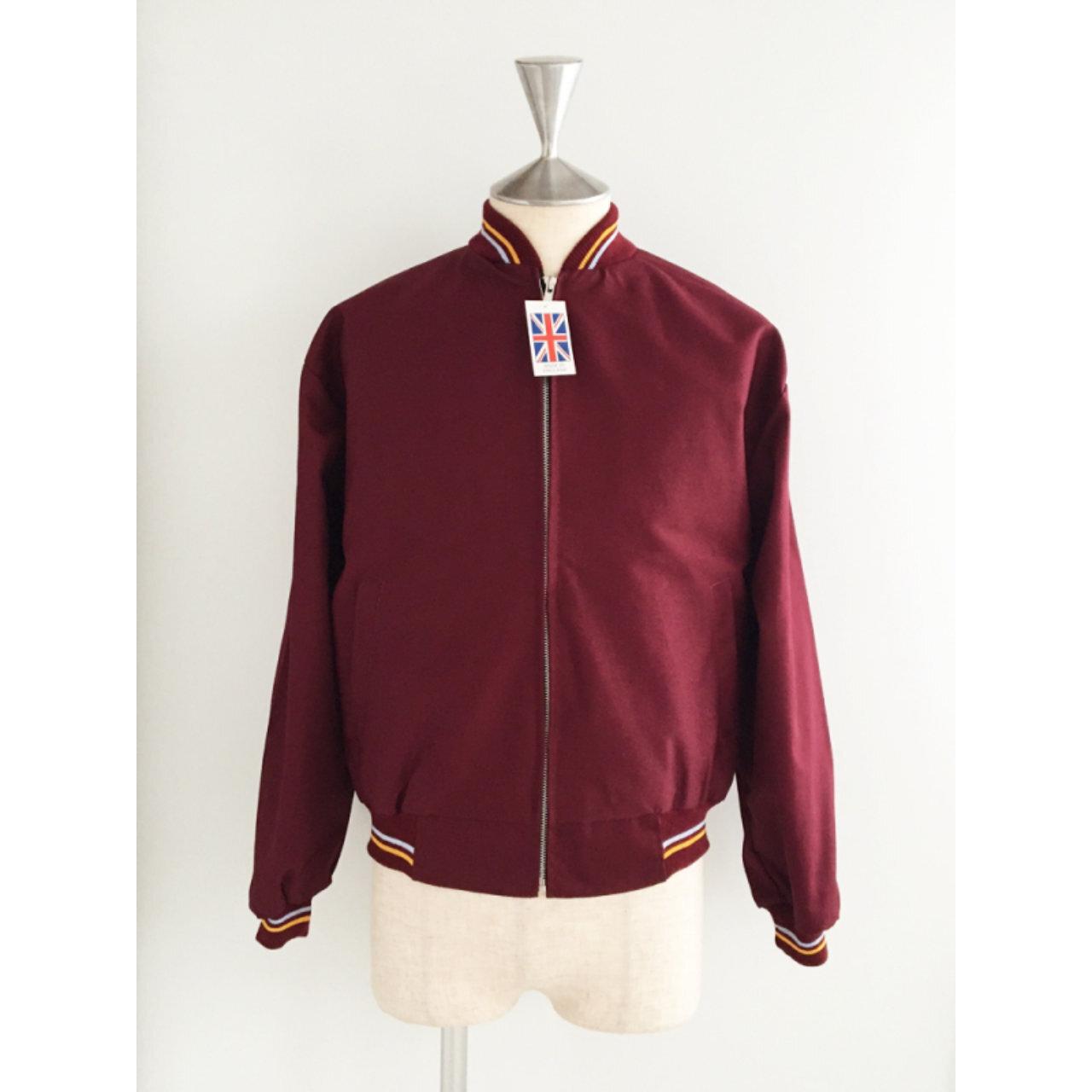 【RELCO LONDON】 英国製 モンキージャケット 〈Burgundy〉