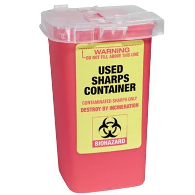 【商品入れ替えのため】【価格改定】廃棄刃用 プラスチックコンテナ