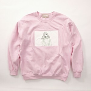 FUSEMACO CREWNECK SWEAT - PINK