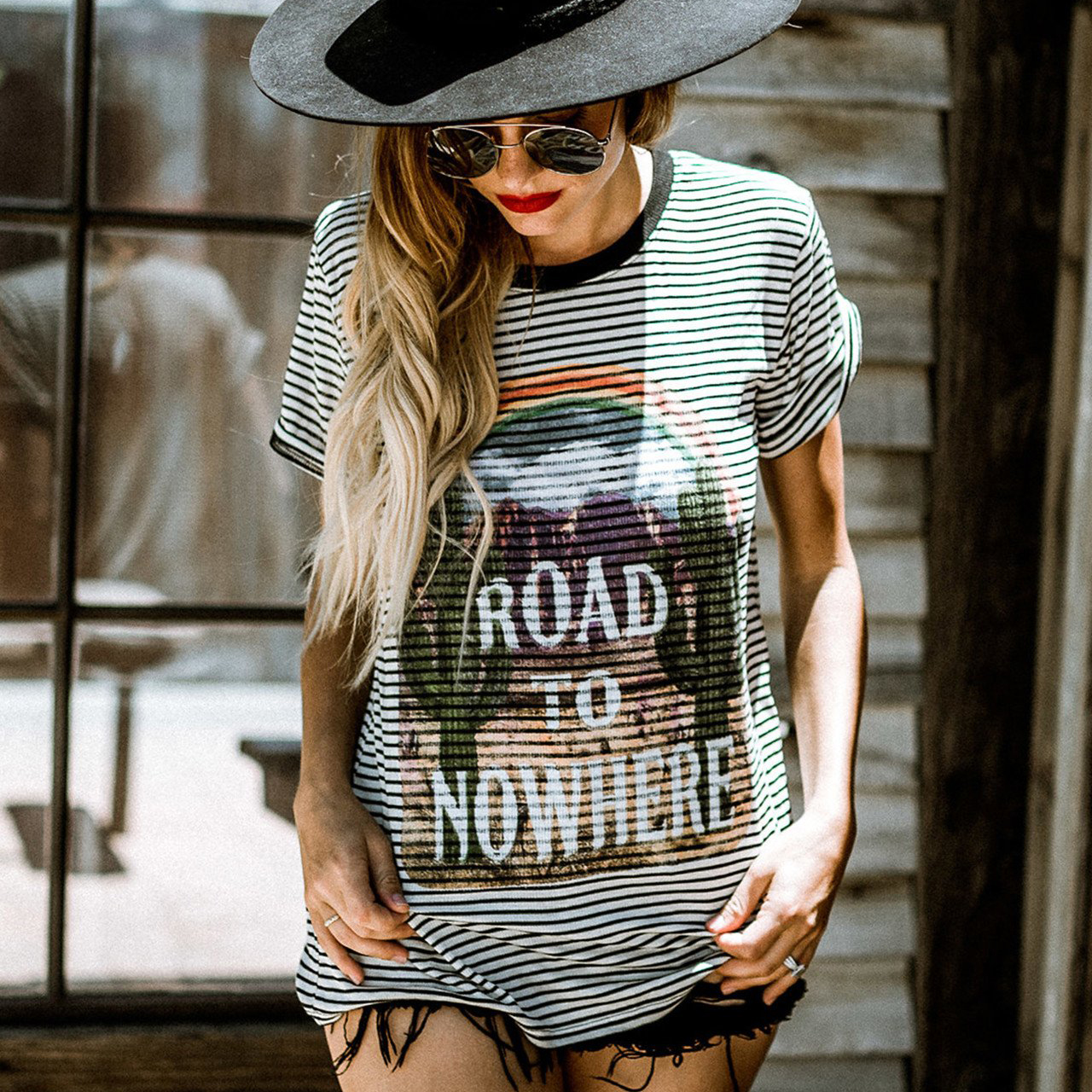 Road To Nowhere Roxbury Tee