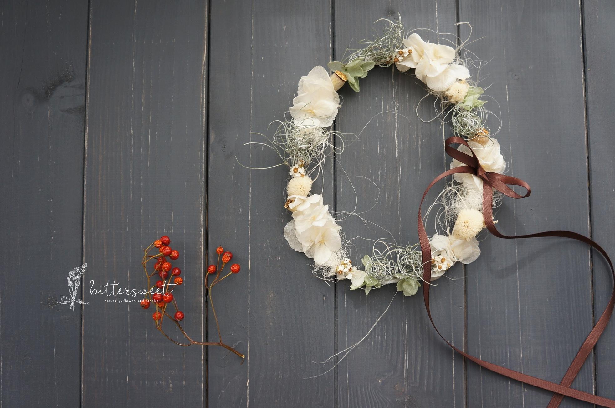 Wire wreath no.006