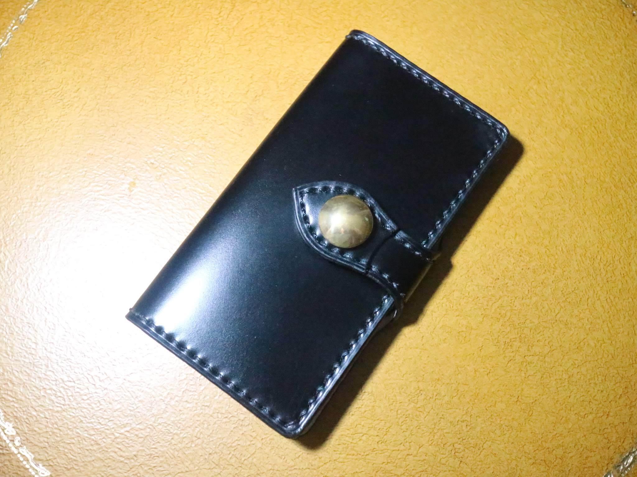 極上 コードバンのスマホケース iphone Android 多機種対応