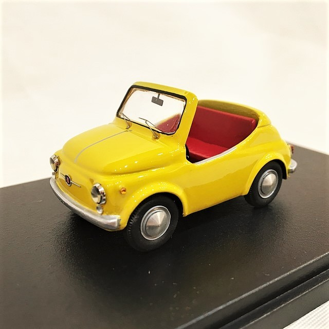 FIAT500 Barchetta 1/43【MG-MODEL】【1個のみ】【税込価格】