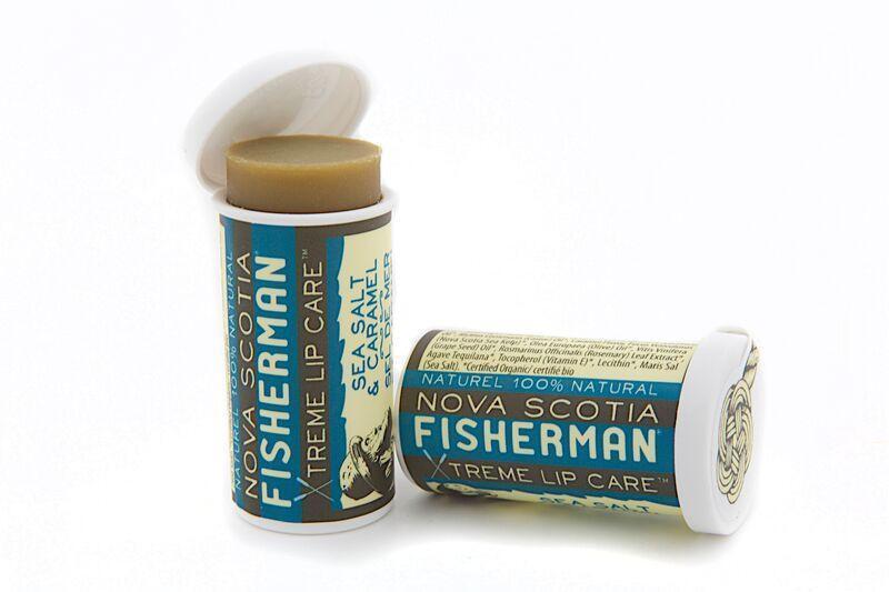 NOVA SCOTIA FISHERMAN(ノバスコシアフィッシャーマン) LIP BALM リップバーム - シーソルト& キャラメル
