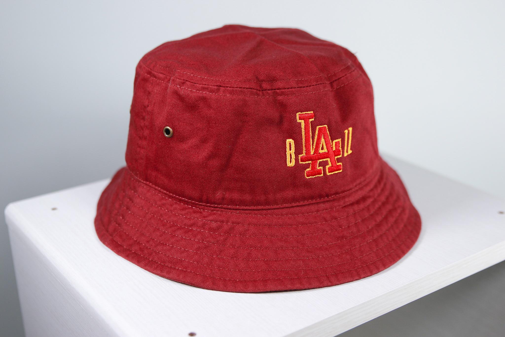b'LA'zz Bucket HAT [WINE]