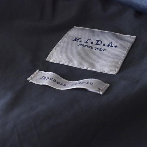 M.I.D.A ミダ  (MEN'S) M-65 ミリタリーダウンジャケット