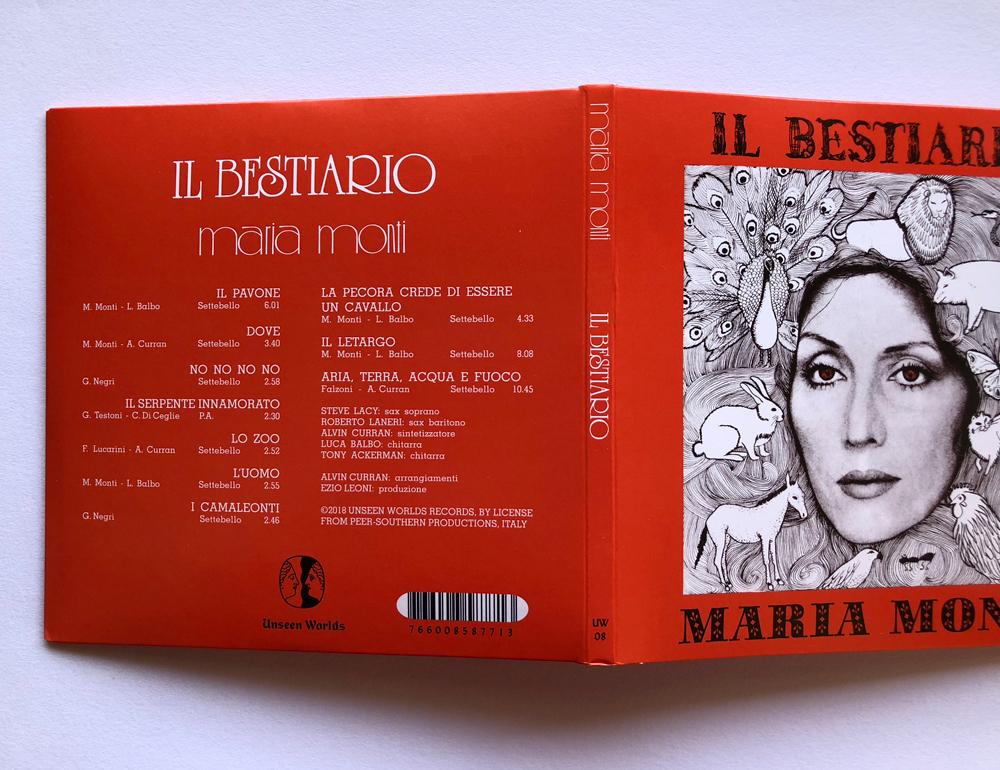 MARIA MONTI 『IL Bestiario』(UNSEEN WORLDS)
