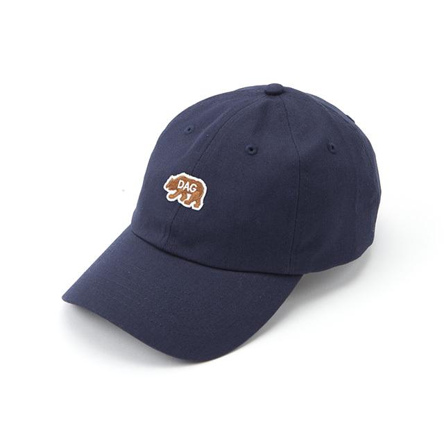 """【DARGO】""""D.A.G"""" Bear Dads Cap (NAVY)"""