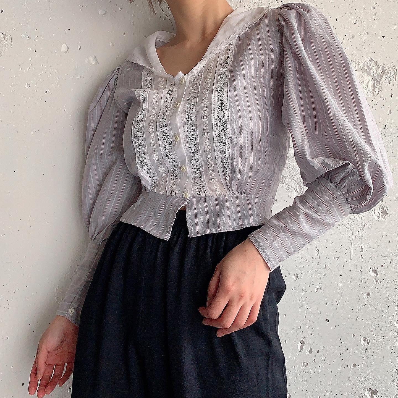 USA vintage design blouse