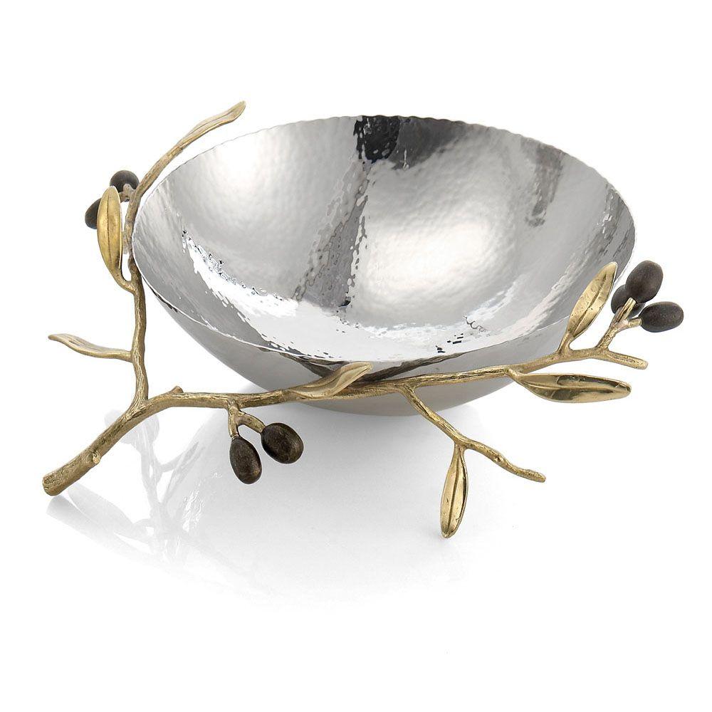 Michael Aram Olive Branch Bowl(マイケルアラム オリーブブランチ ボール) / 175133