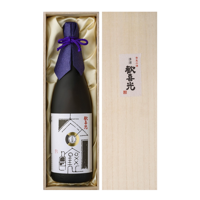 歓喜光 大吟醸(1800ml・桐箱入り)