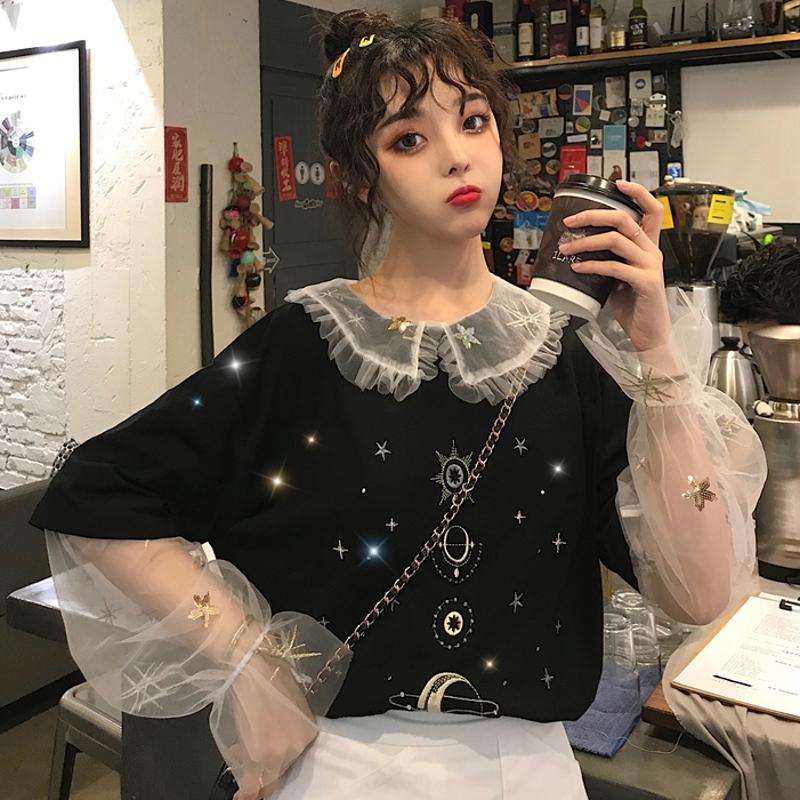【tops】清新刺繍ファッション合わせやすいTシャツ22812156