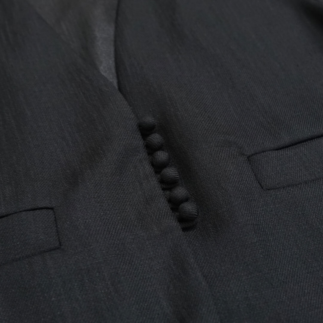 【再入荷なし】 WHYTO. ホワイト ポリエステルツイルショートジャケット (品番wht20hjk1)