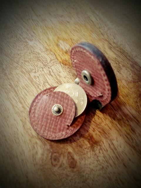 1786 Coin Holder Key Ring K19
